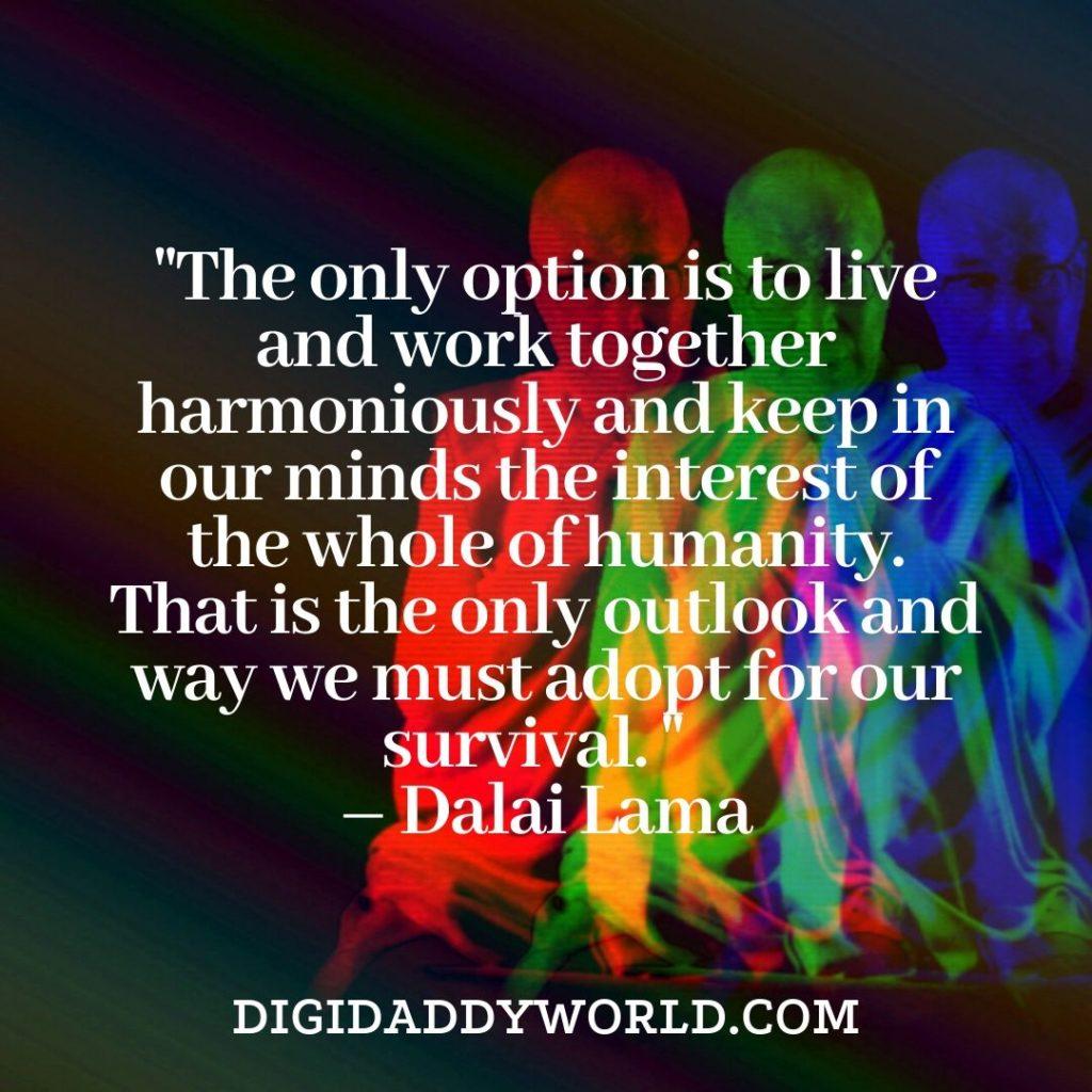 Dalai Lama XIV deep motivational quotes