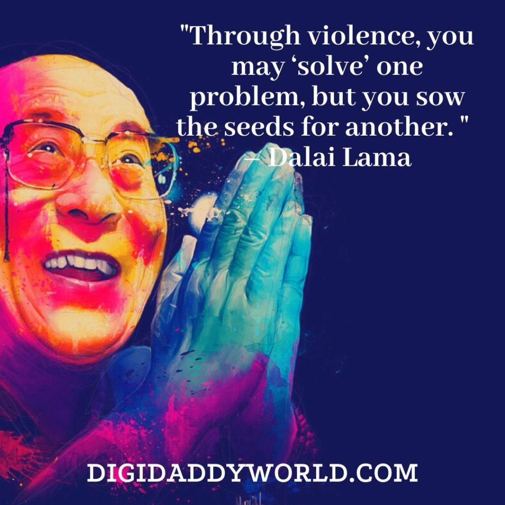 Dalai Lama XIV quotes about change in life and moving on