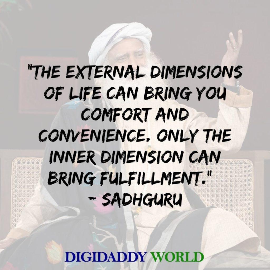 Sadhguru Jaggi Vasudev quotes