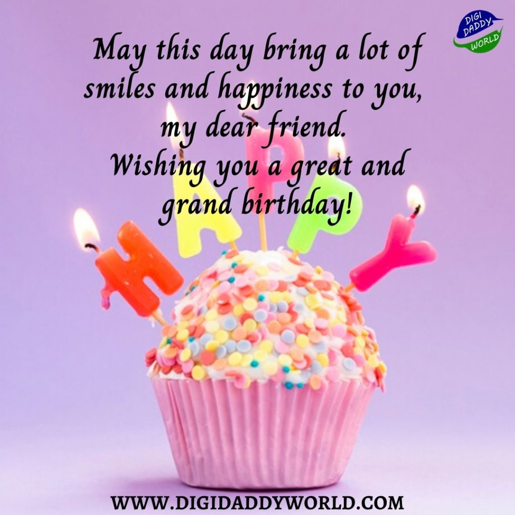 Happy Birthday Quotes Images for Friend
