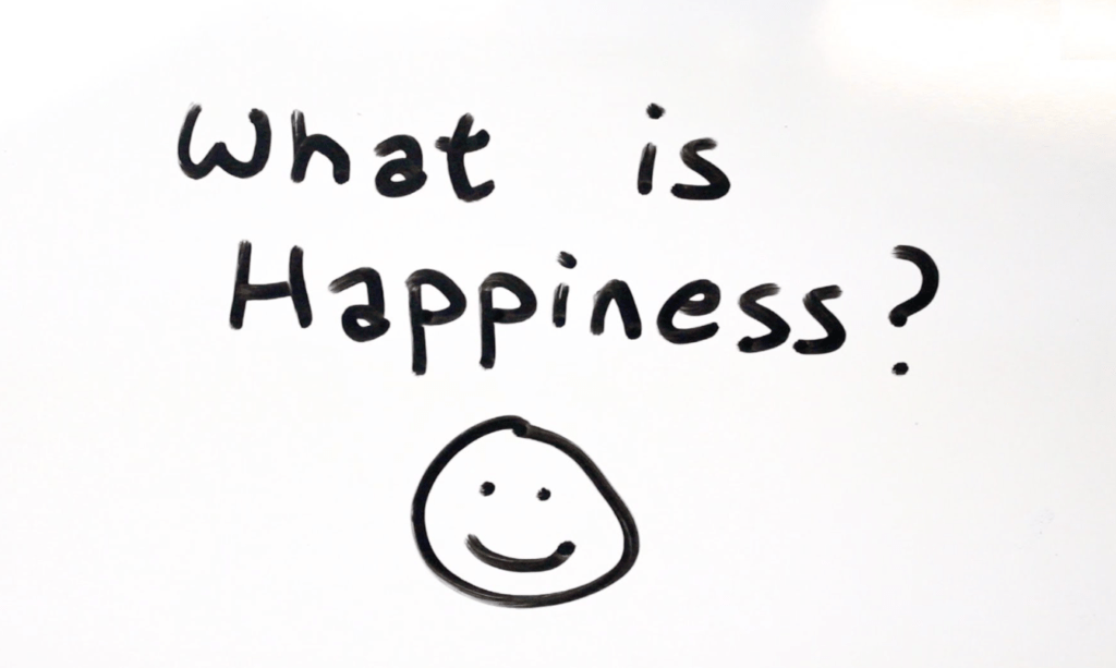 what is happiness in life to you