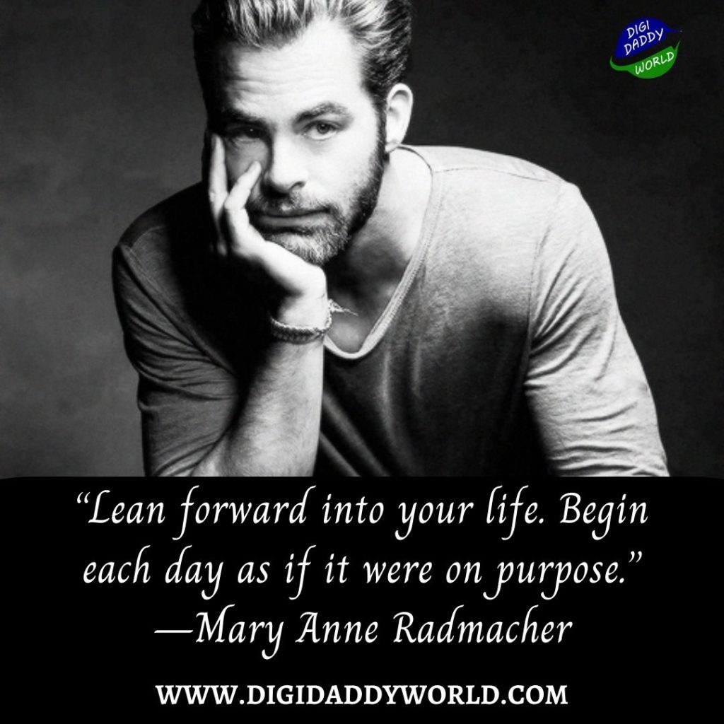 Motivational Quotes about Purpose in Life