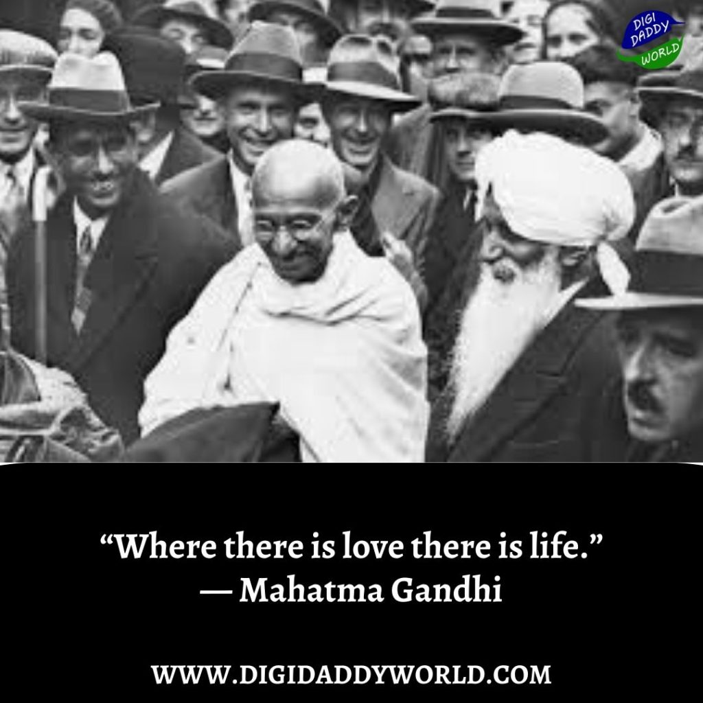 Mahatma Gandhi Quotes on Change