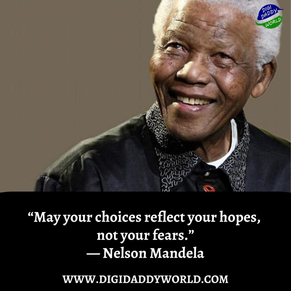 nelson mandela quotes on fear