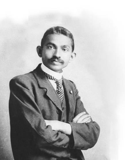 Young Mahatma Gandhi Image