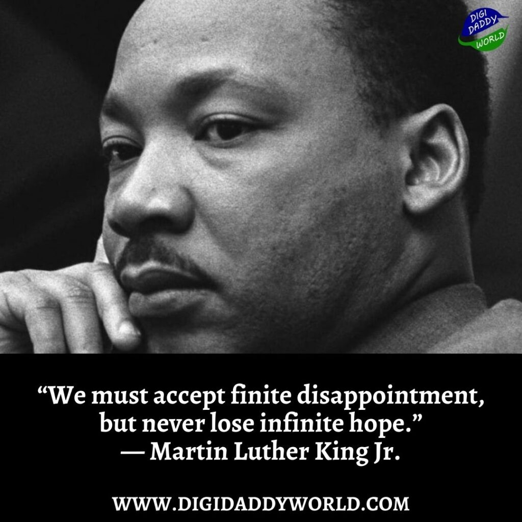 Powerful Martin Luther King Jr. Quotes on Peace and Faith