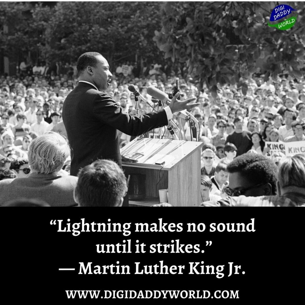 Martin Luther King Jr. Quotes about Equality