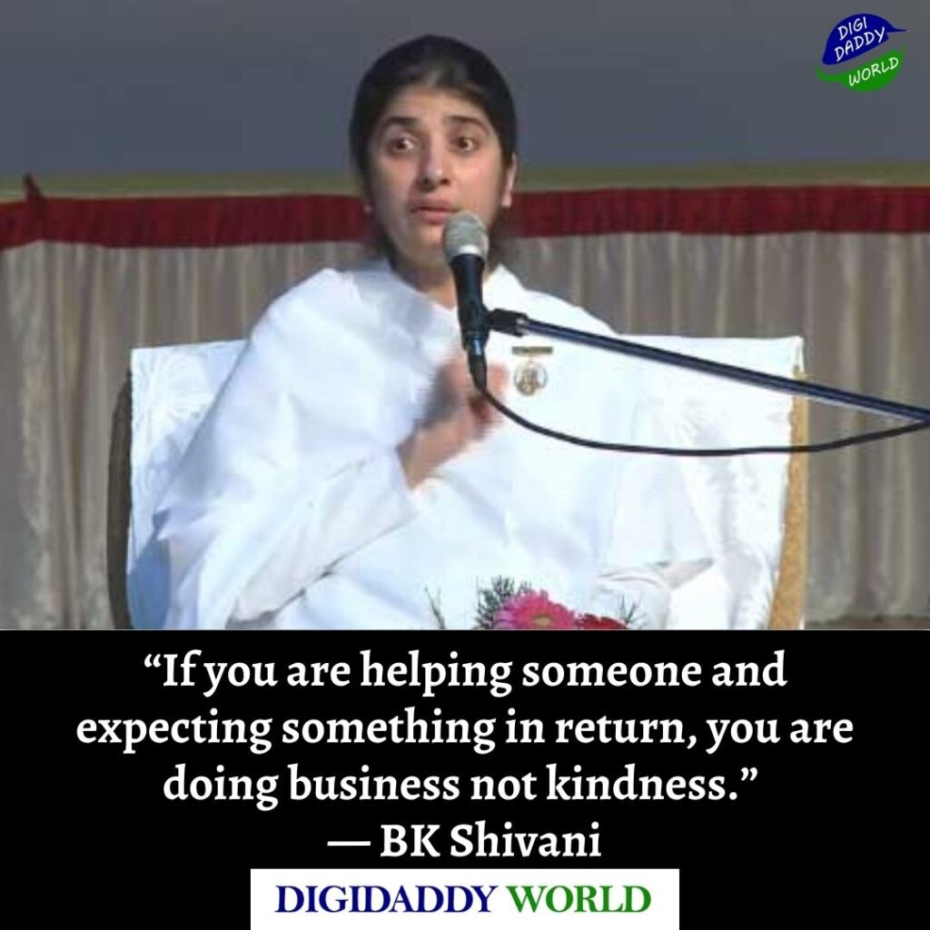 BK Sister Shivani Quotes on Life