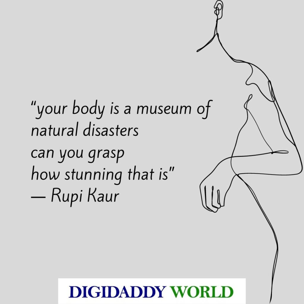 Rupi Kaur Self Love Poems and Quotes
