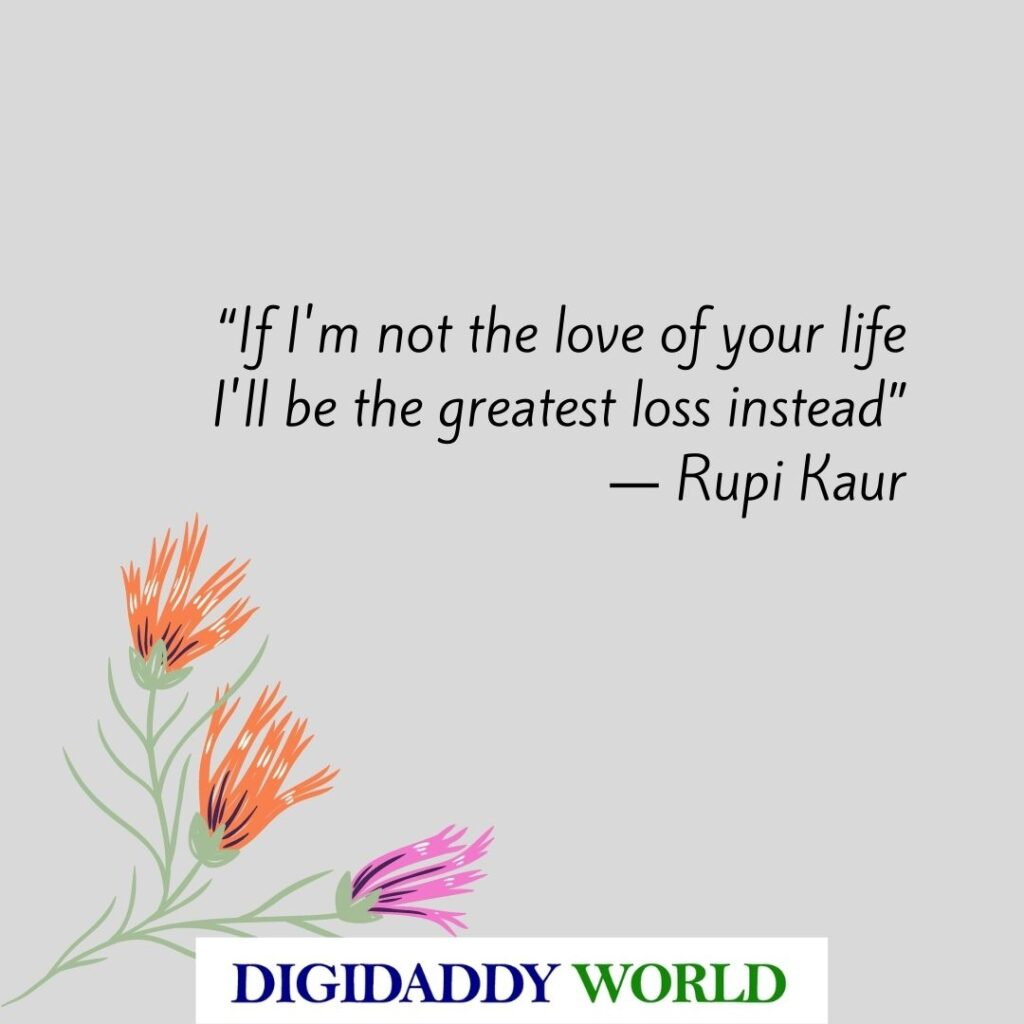 Rupi Kaur Love Poems And Quotes