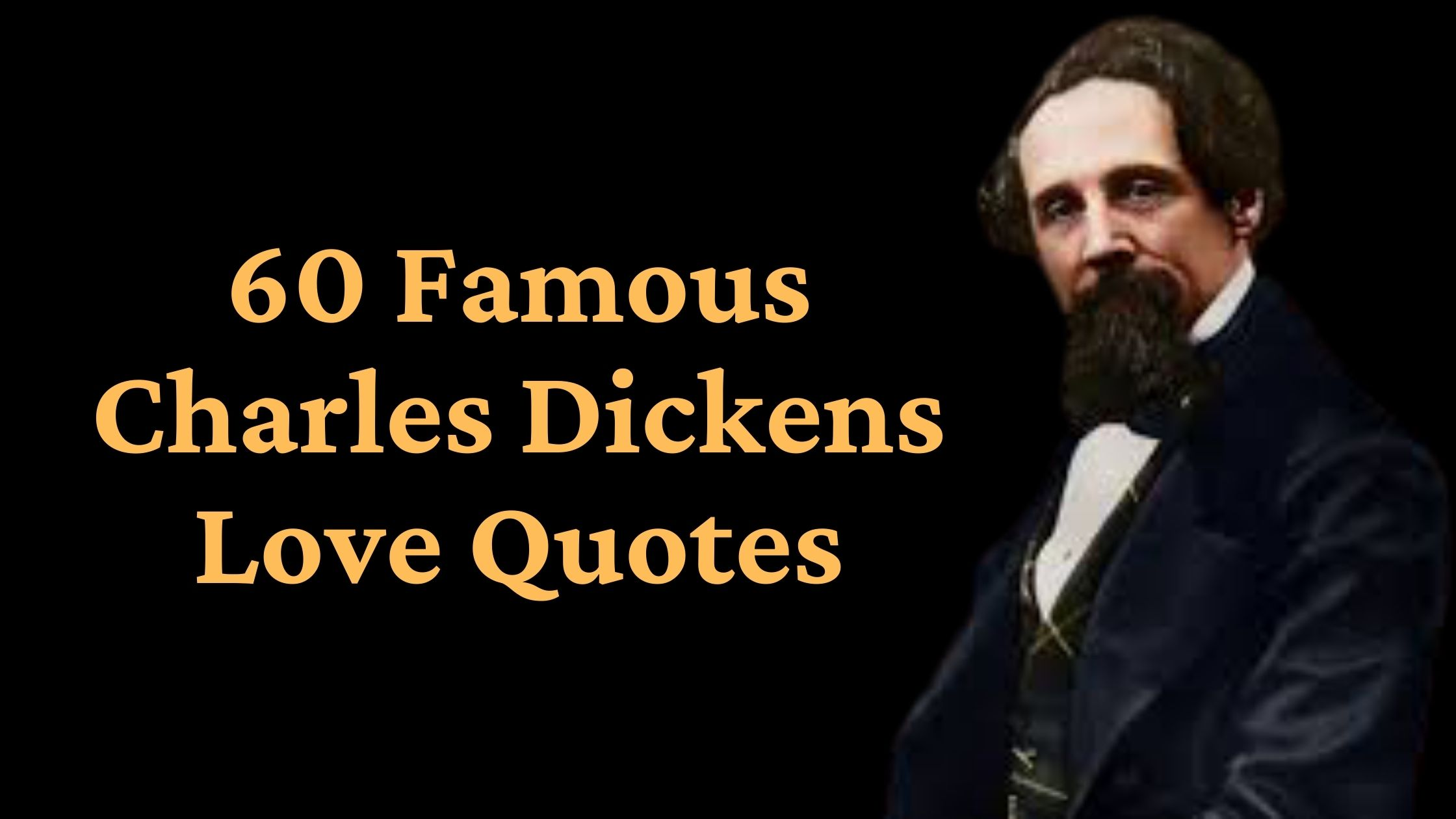 Famous Charles Dickens Love Quotes