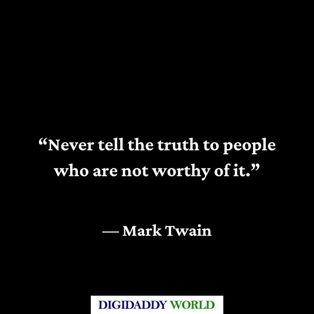 Mark Twain Political Quotes