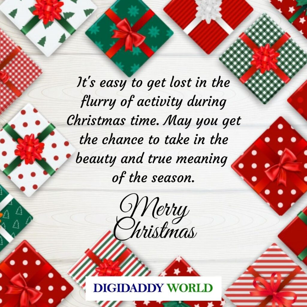 Merry Christmas Wishes WhatsApp Messages for Friends and loved ones