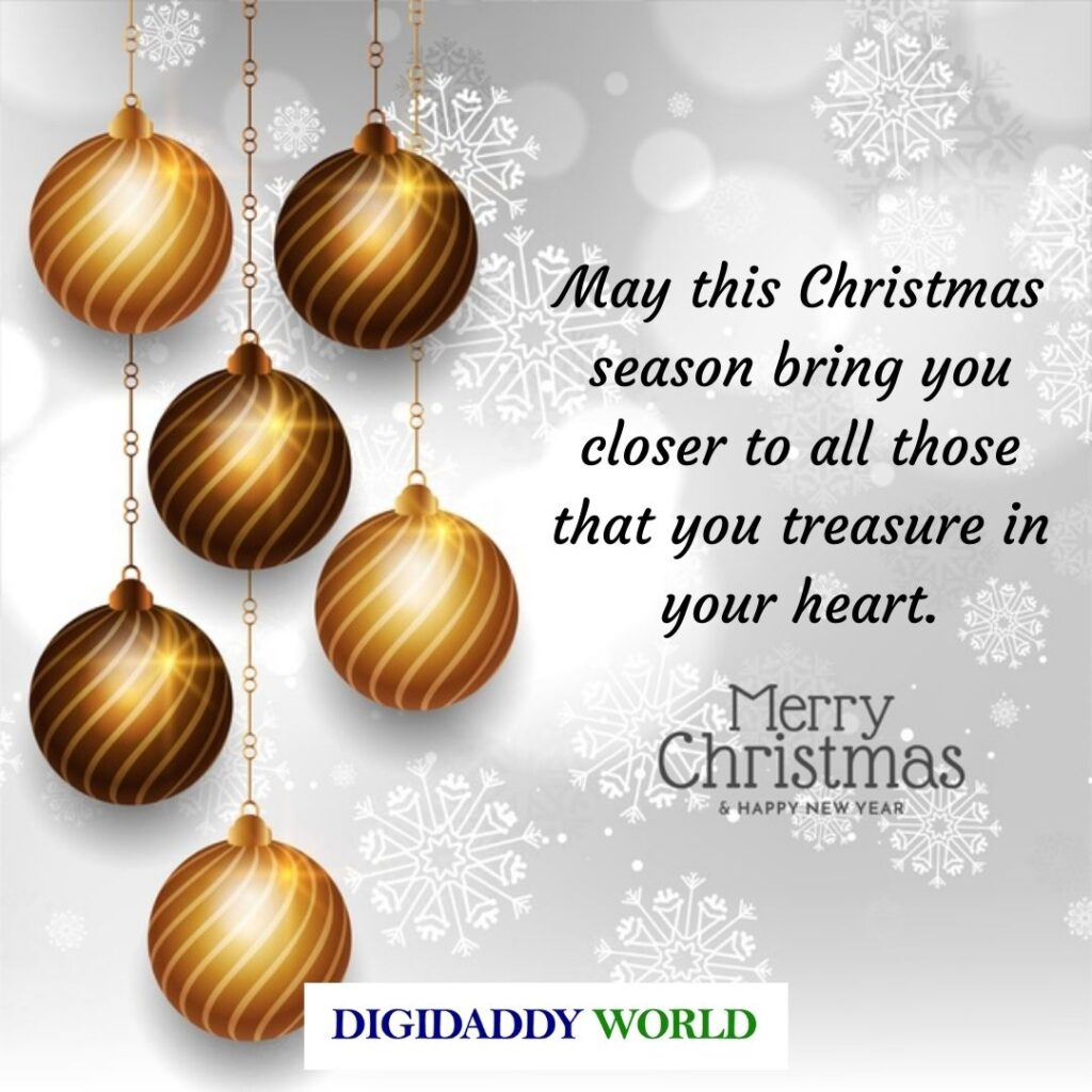 Merry Christmas Wishes for Friends and loved ones
