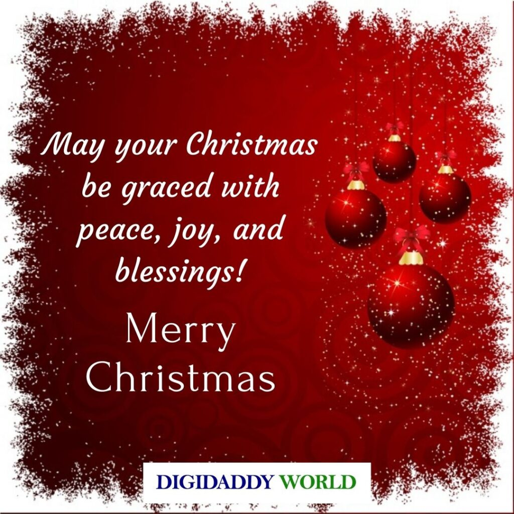 Happy Merry Christmas Wishes for Friends