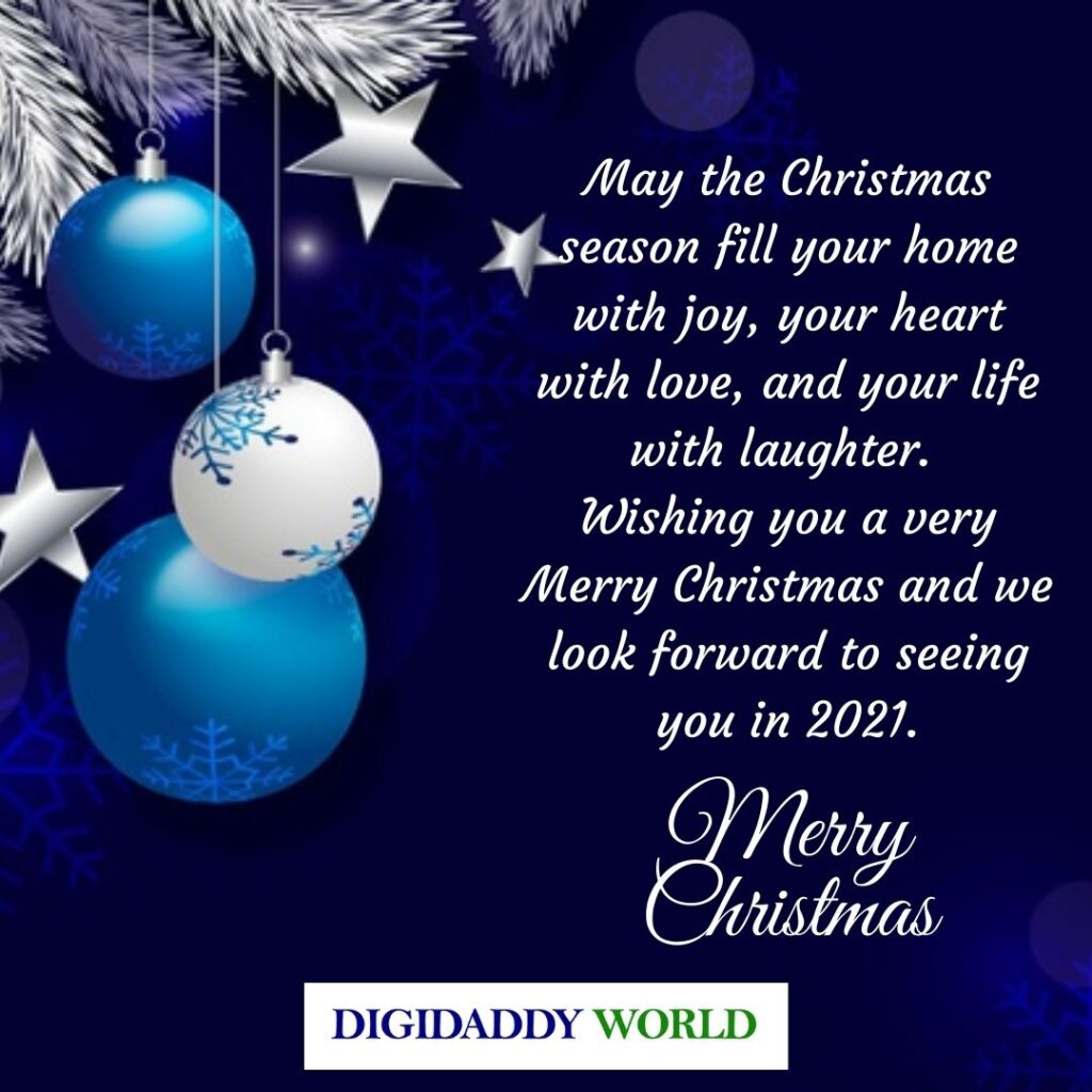 I Wish You a Merry Christmas Messages for Friends and loved ones
