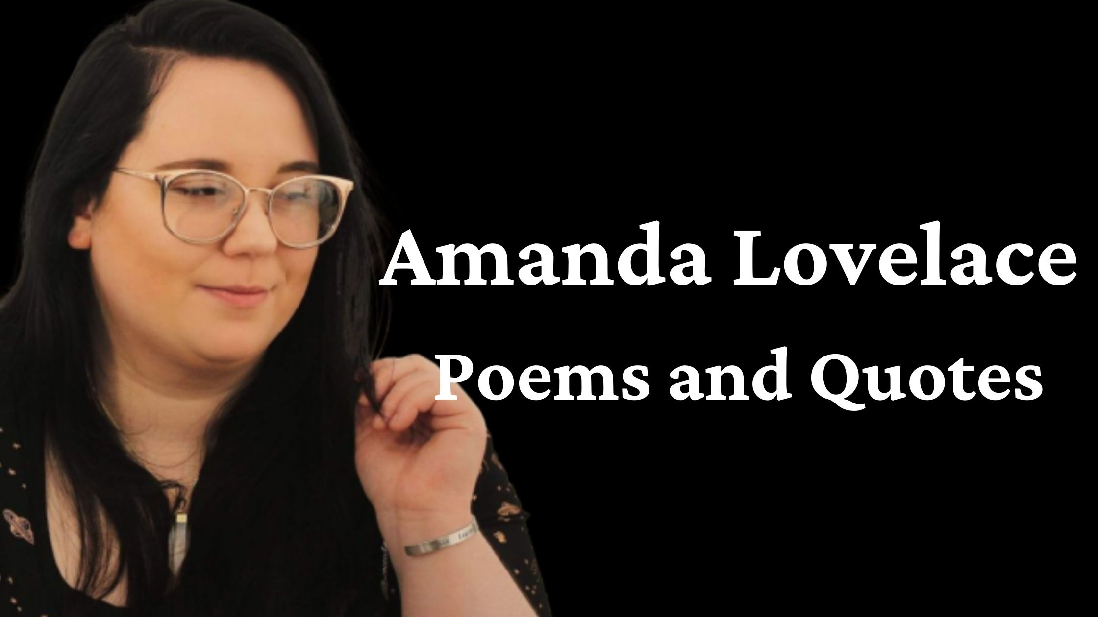 Best Amanda Lovelace Poems and Quotes