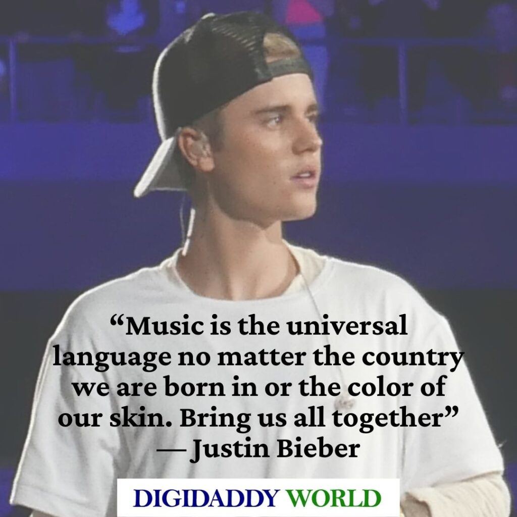 Justin Bieber Inspirational Love Quotes About Life