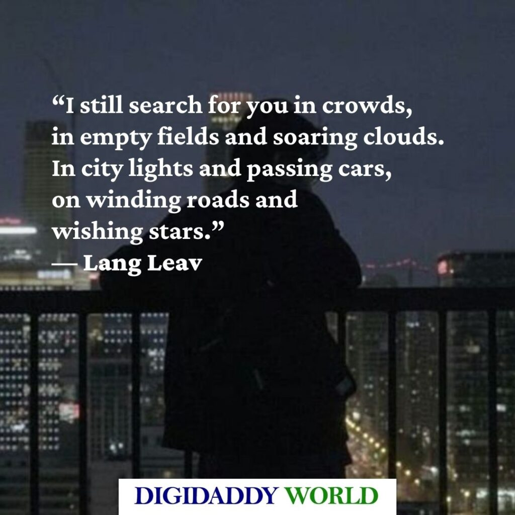 Lang Leav Love Poems and Quotes