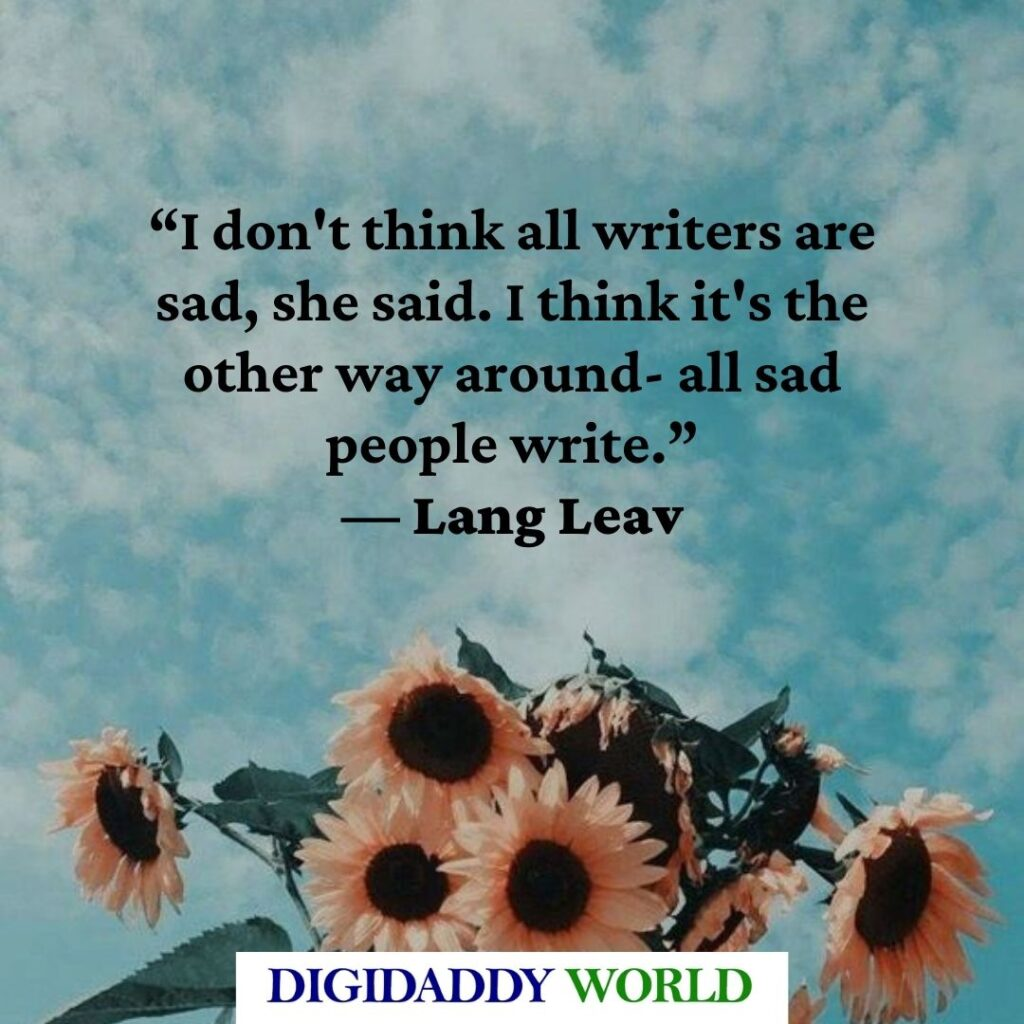 Lang Leav Best Short Love Poems and Quotes
