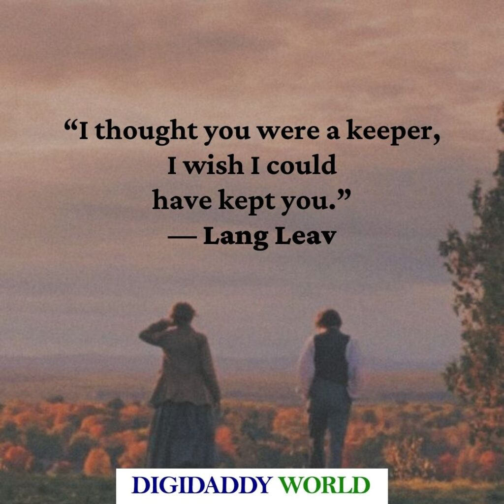 Love & Misadventure Quotes and Poems by Lang Leav