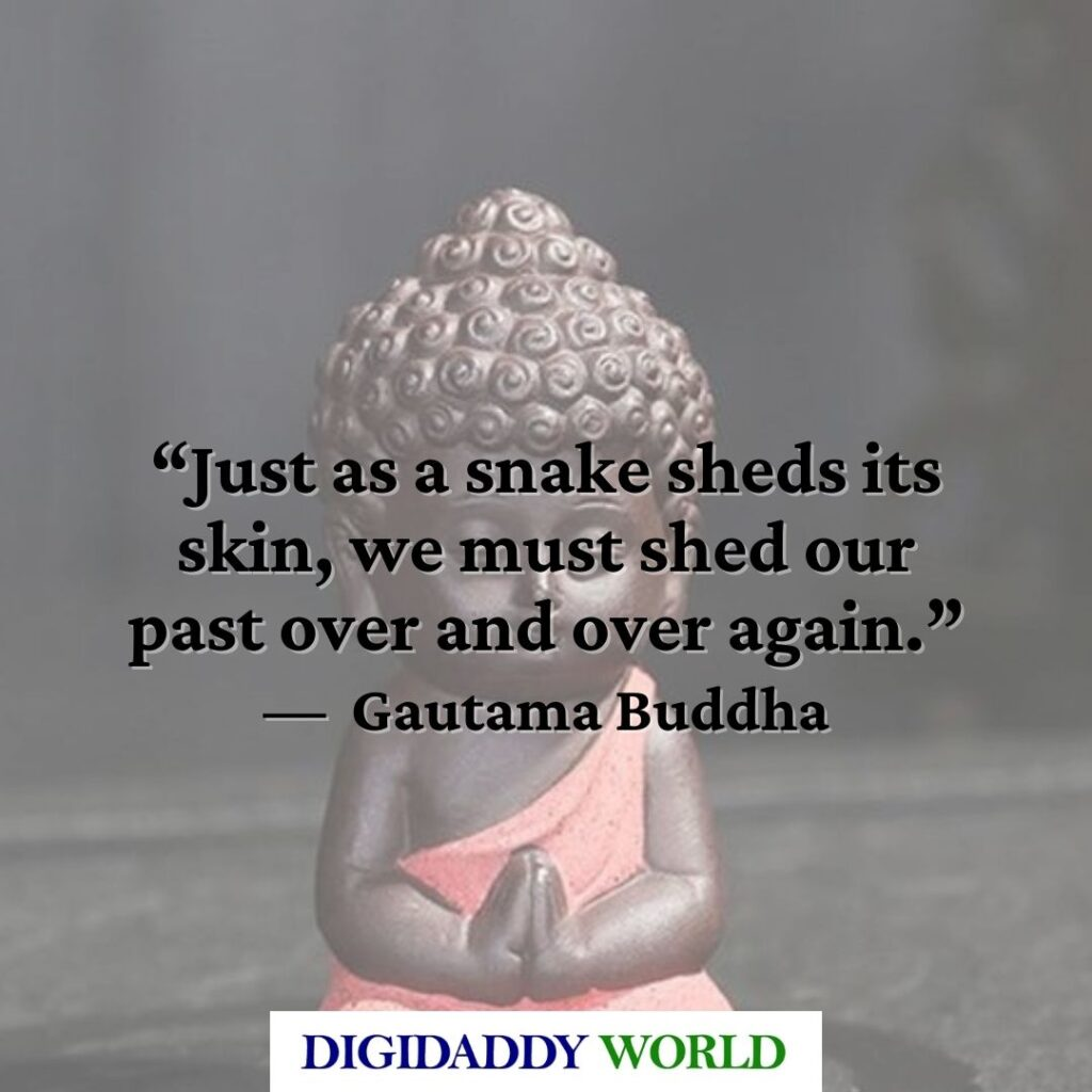 Gautama Buddha Quotes about Life and Changing Yourself
