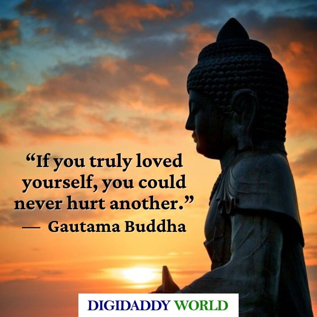 Gautama Buddha Quotes about Anger, Life, Love, and Peace