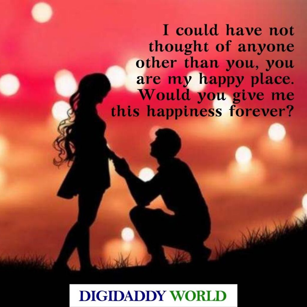 Happy Propose Day Quotes Wishes for Husband/Wife