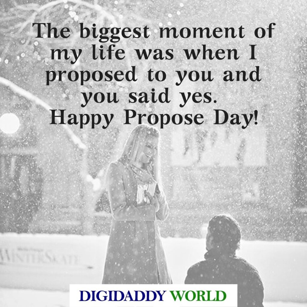 Happy Propose Day Quotes Wishes for Girlfriend/Boyfriend