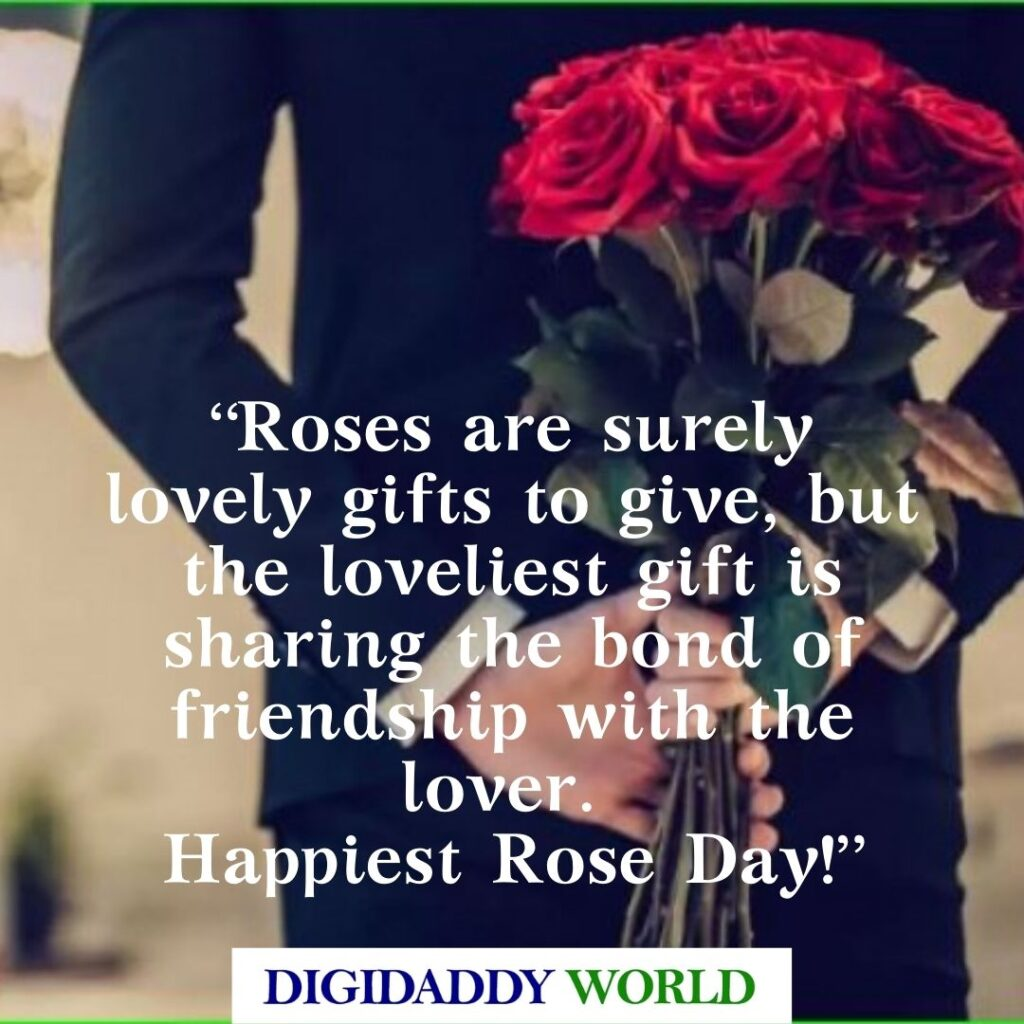 Happy Rose Day Quotes, Caption, Wishes, and Messages