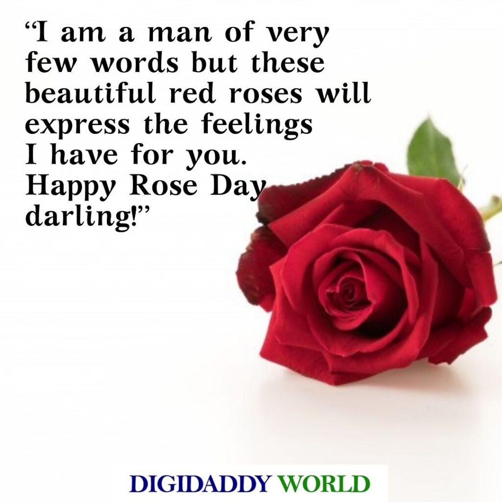Happy Rose Day Quotes For Husband/Wife