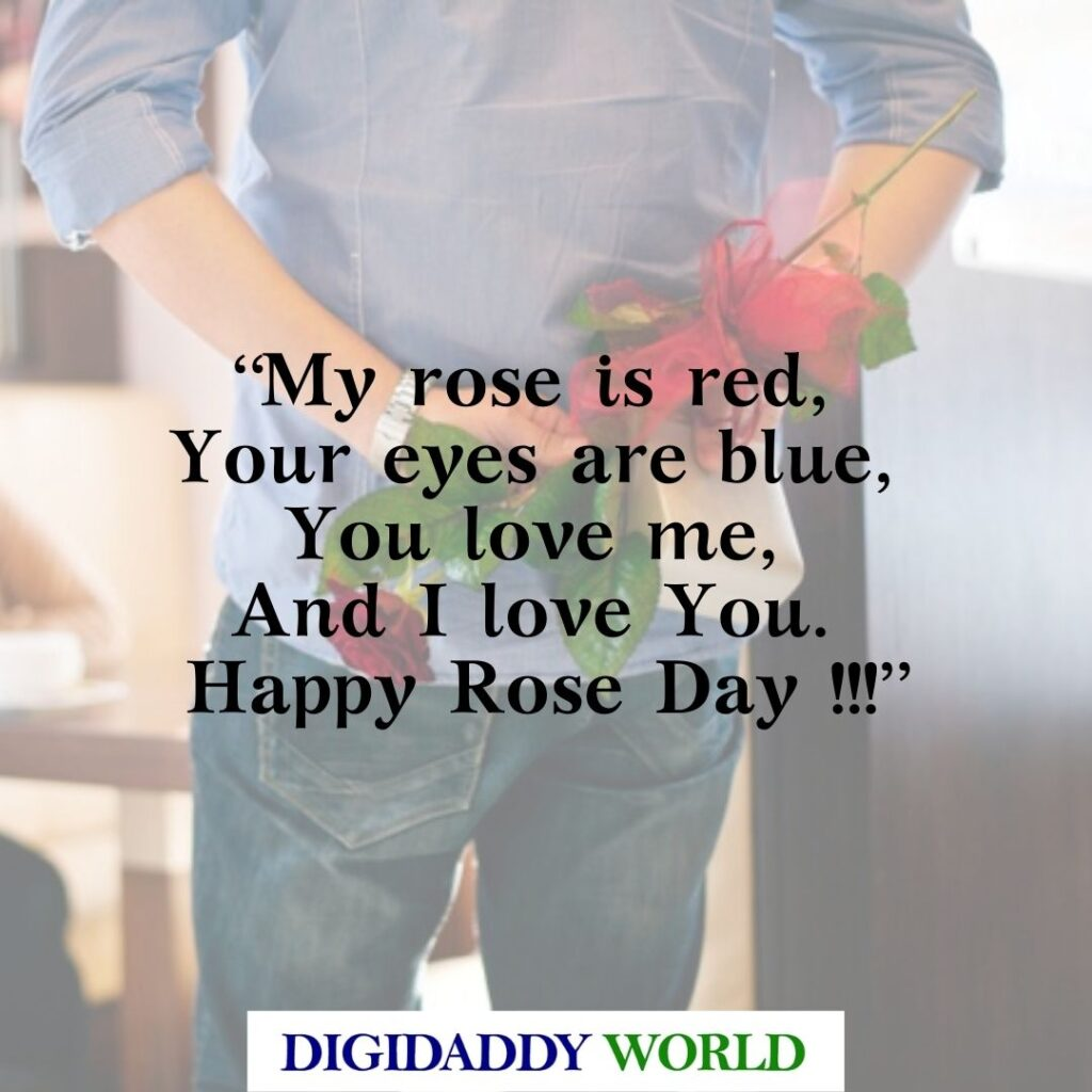 Happy Rose Day Quotes Messages for Lovers