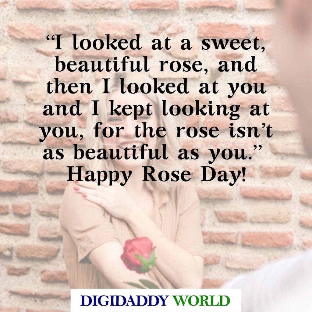Happy Rose Day Quotes, Messages, Wishes for him/her