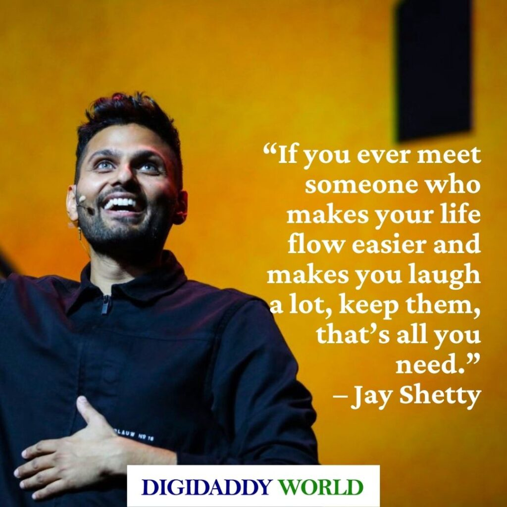 Jay Shetty Motivational Quotes with Images