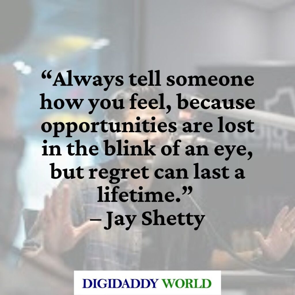 Jay Shetty Think Like a Monk Quotes