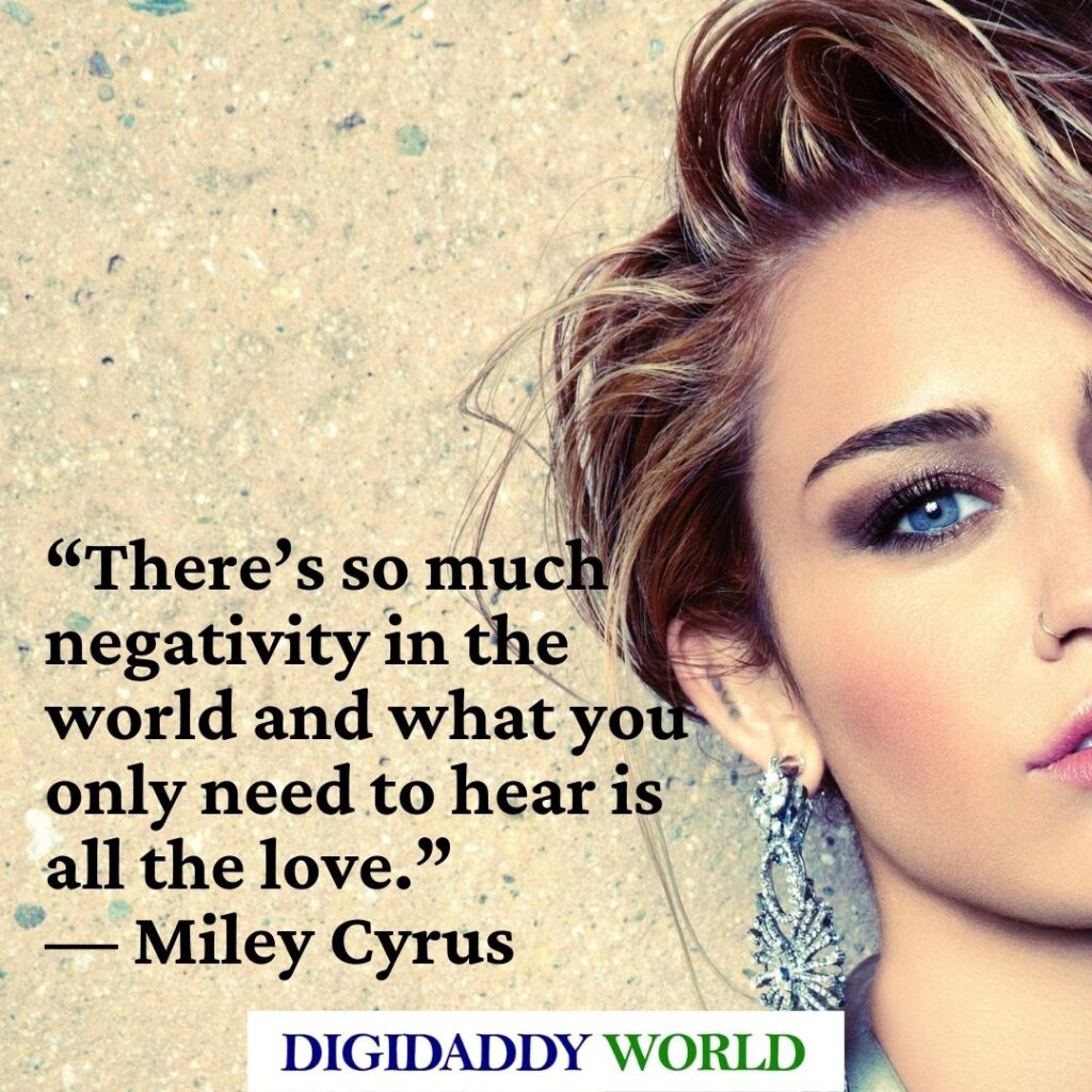 Best Hannah Montana Song Quotes