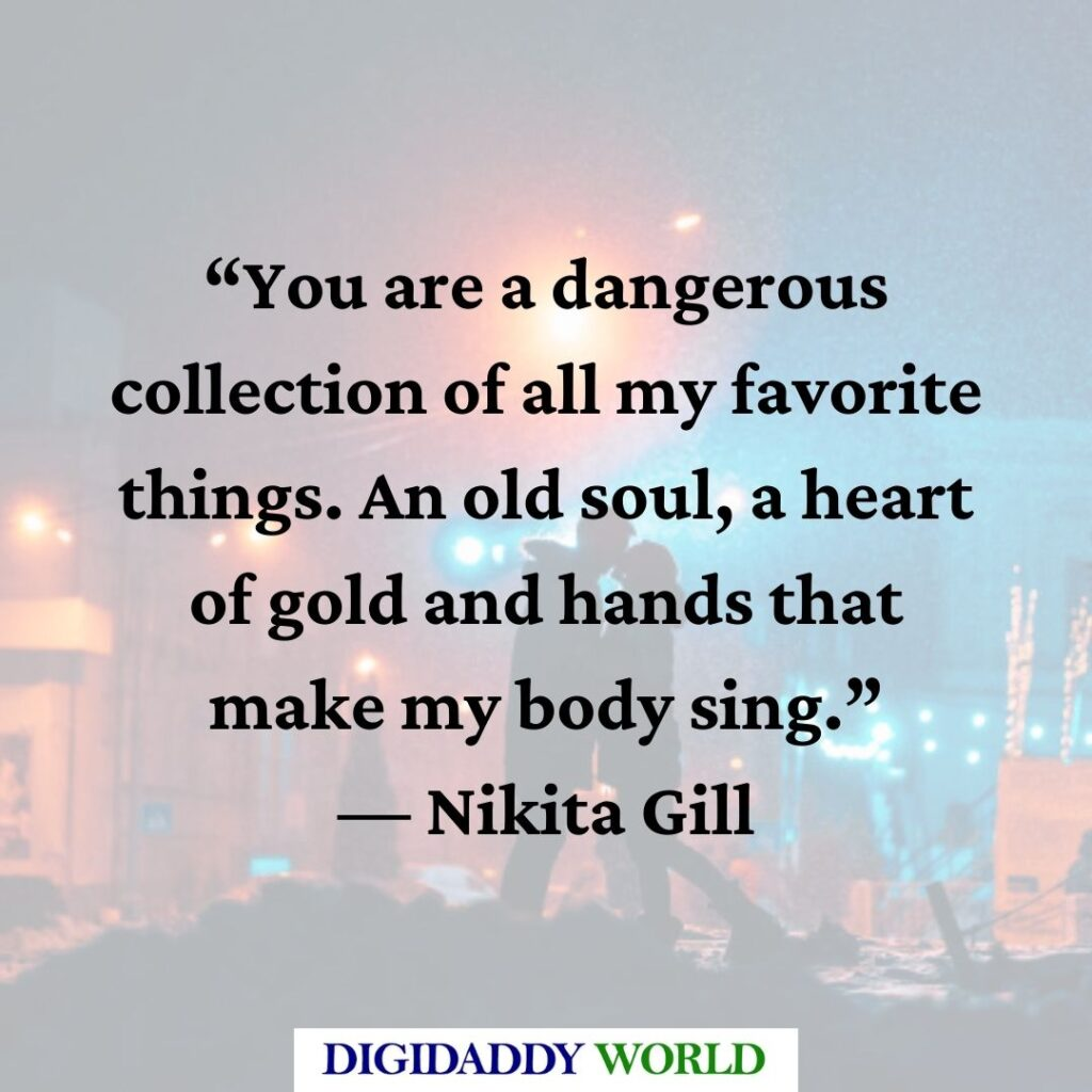 Nikita Gill Love Poems and Quotes