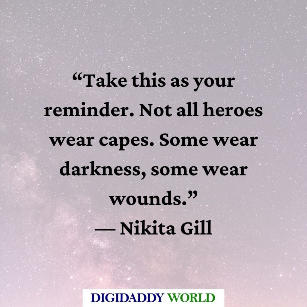 Nikita Gill Quotes on Love