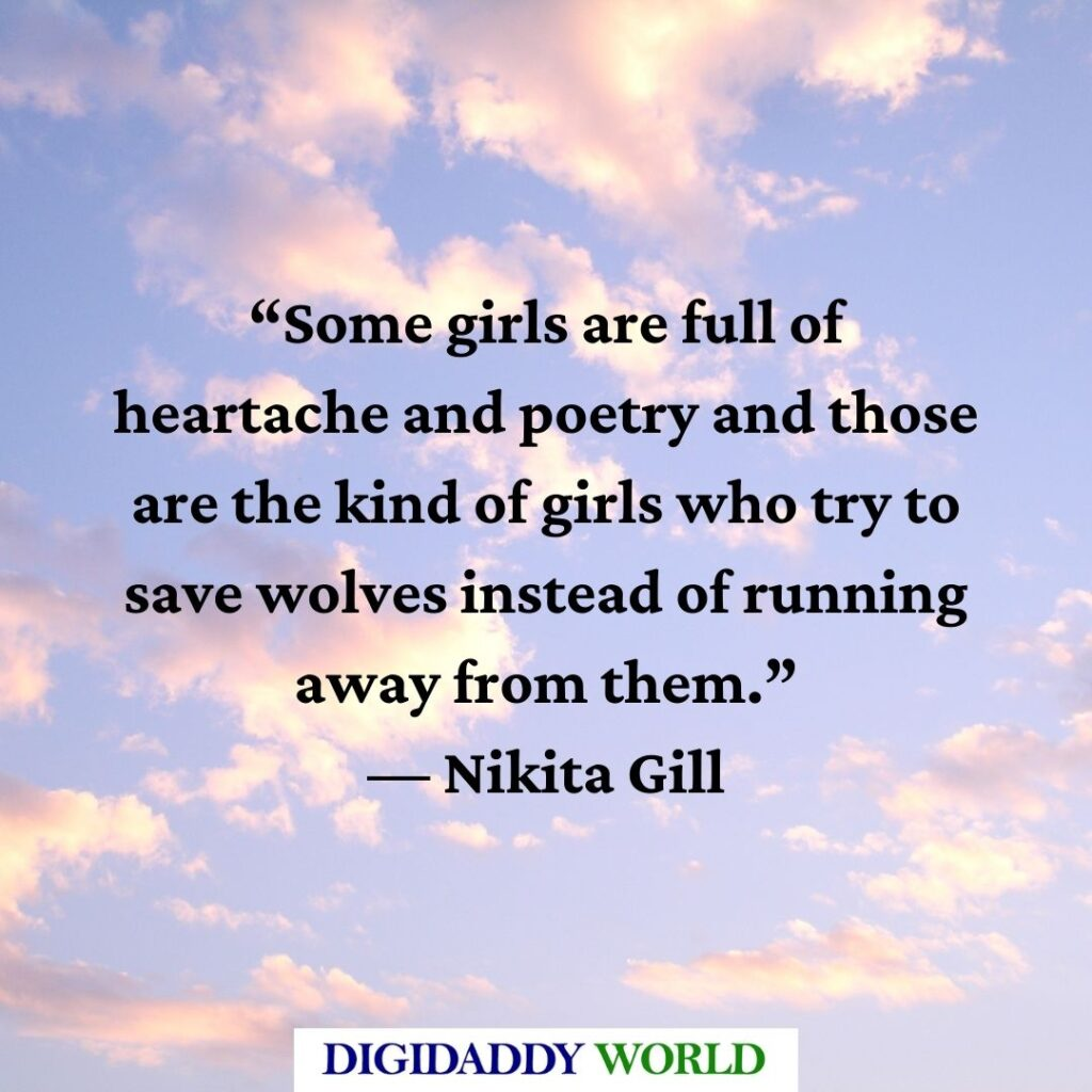 Nikita Gill Love Quotes and Poems