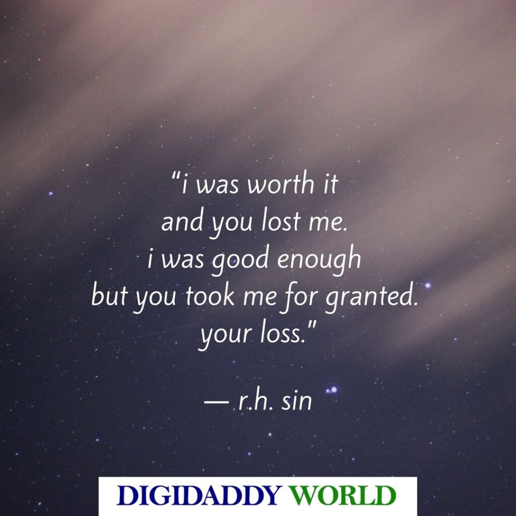 R.H. Sin Quotes about love and life