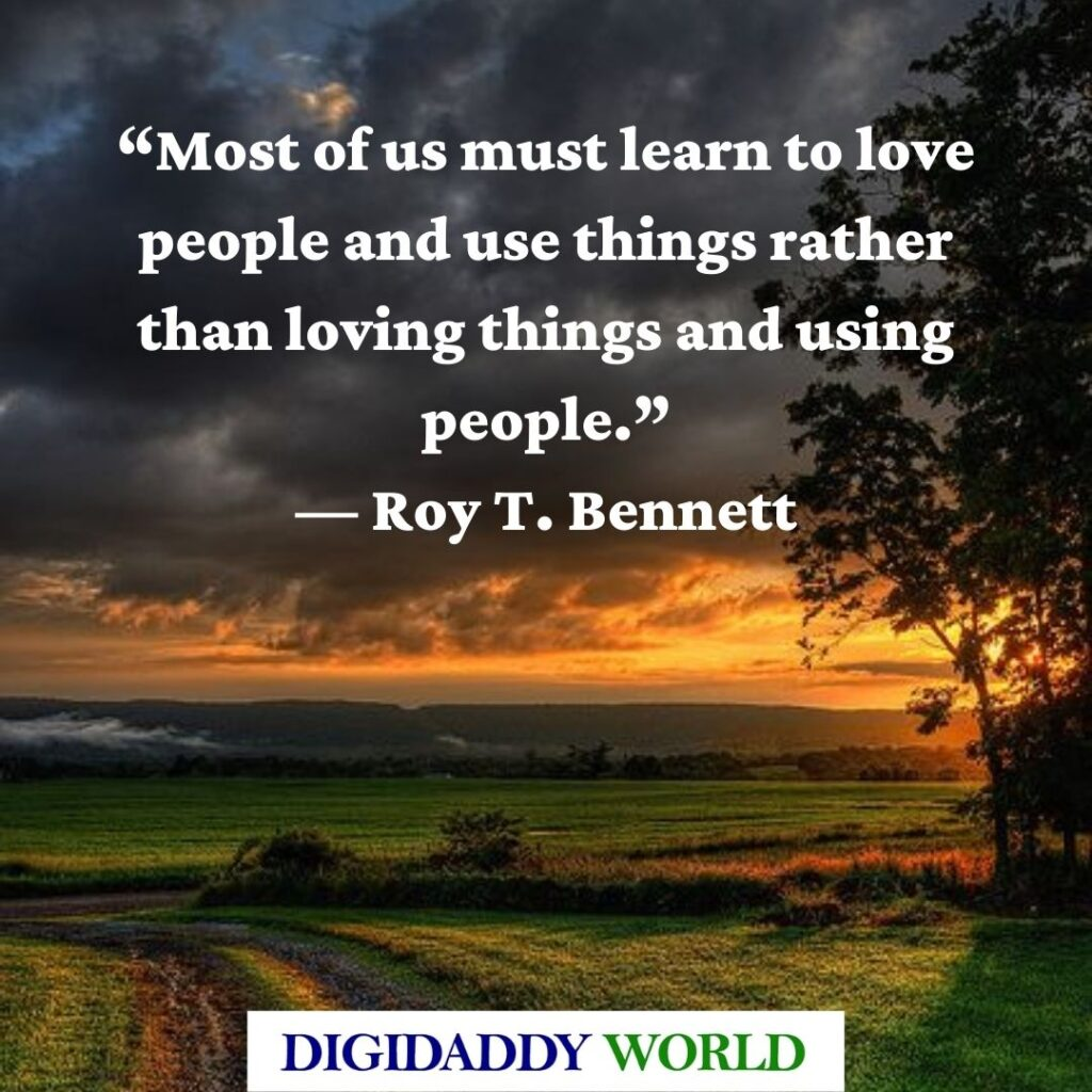 Roy T. Bennett The Light in the Heart Quotes
