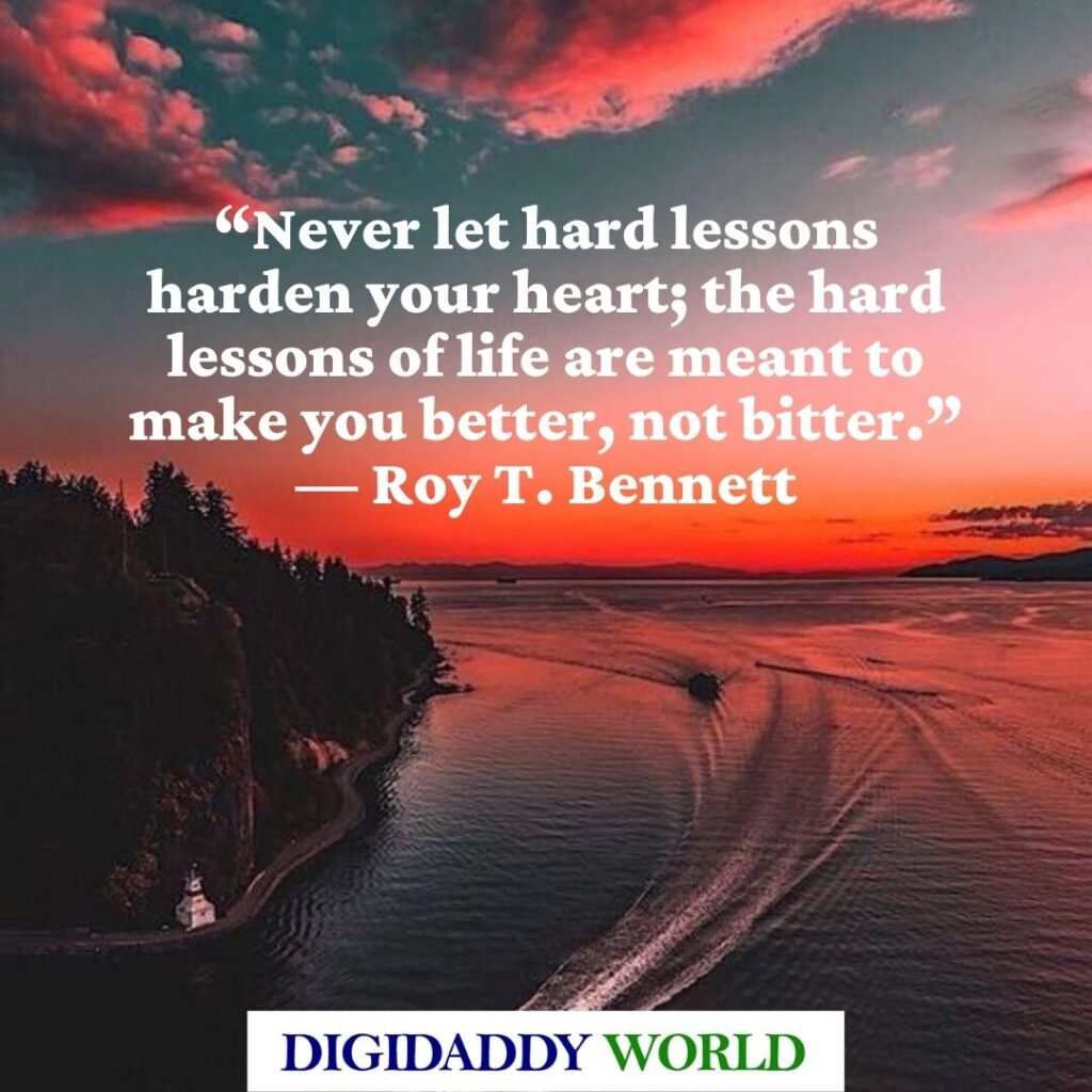 Roy T. Bennett The Light in the Heart book quotes
