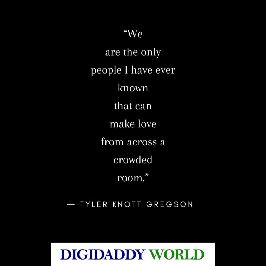 Tyler Knott Gregson Love Poems from All The Words Are Yours