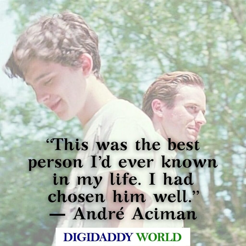 André Aciman Call Me By Your Name Love Quotes