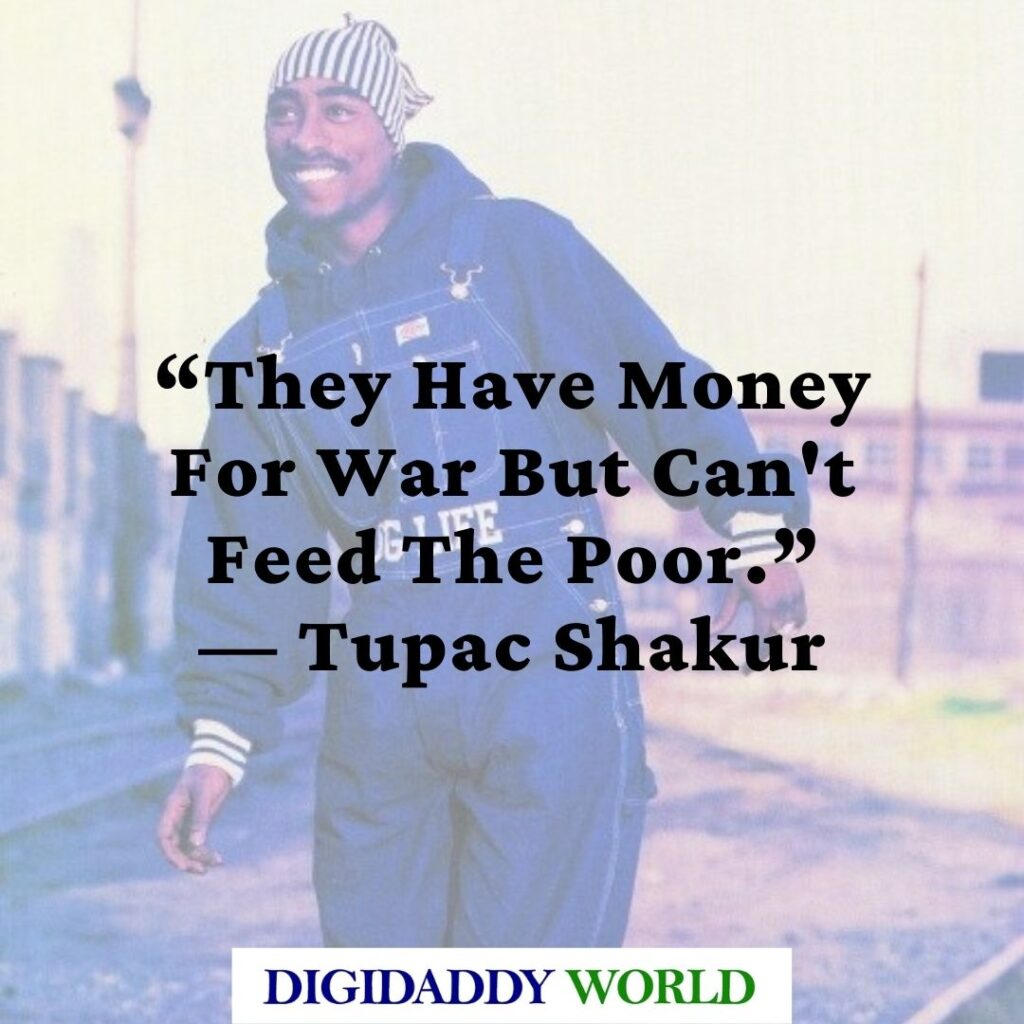 Tupac Shakur quotes about Women and money