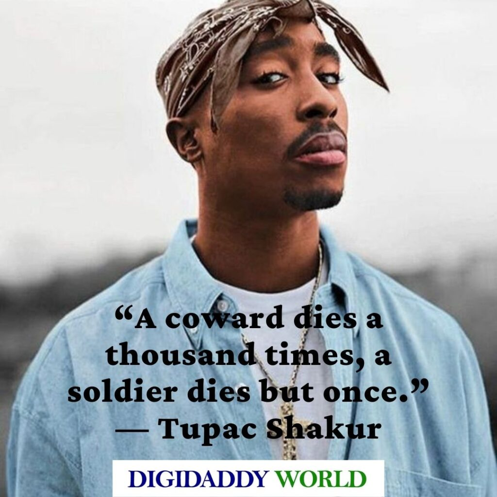 Famous Tupac 2pac quotes about Trust and life