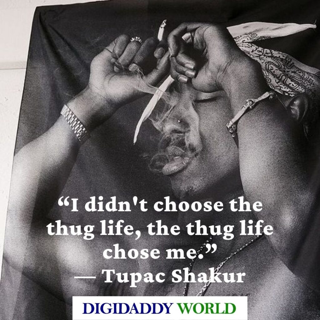 Tupac quotes about Death and Moving on