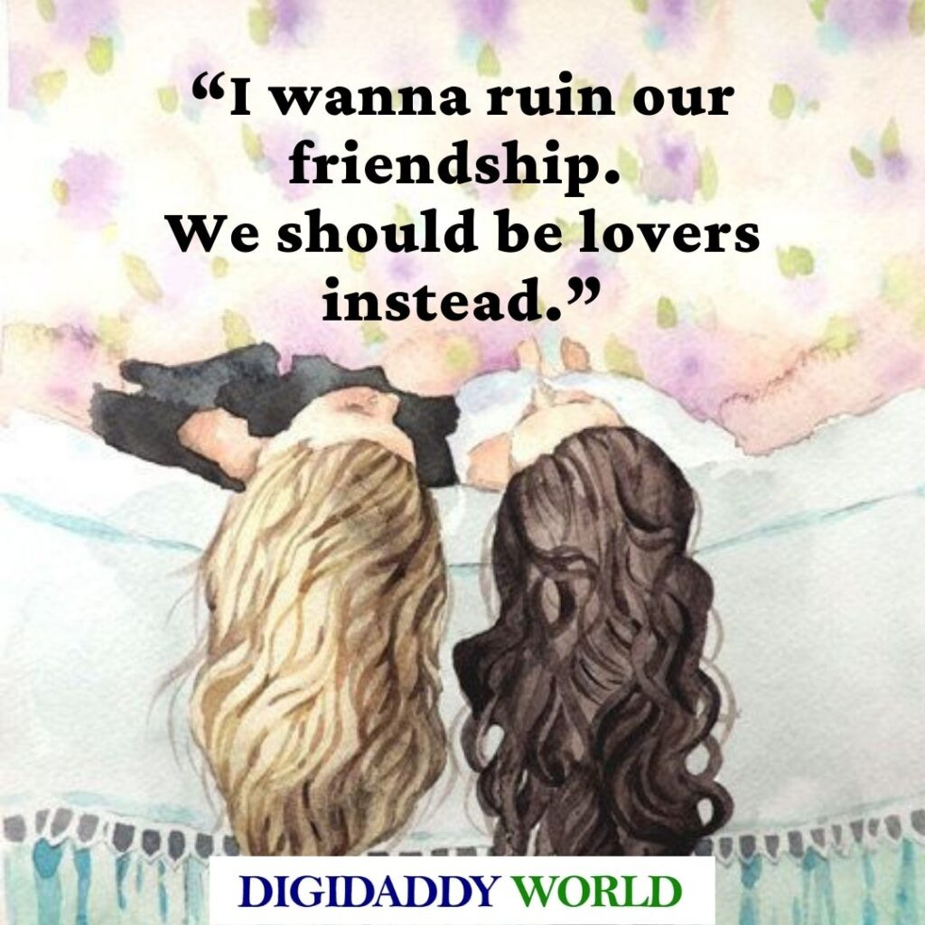 Cute Romantic Lesbian Love Quotes for your girlfriend