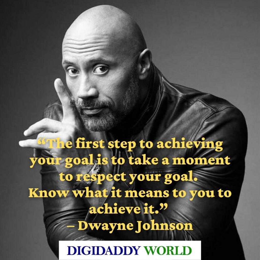 Dwayne The Rock Johnson WWE Wrestling Quotes and sayings