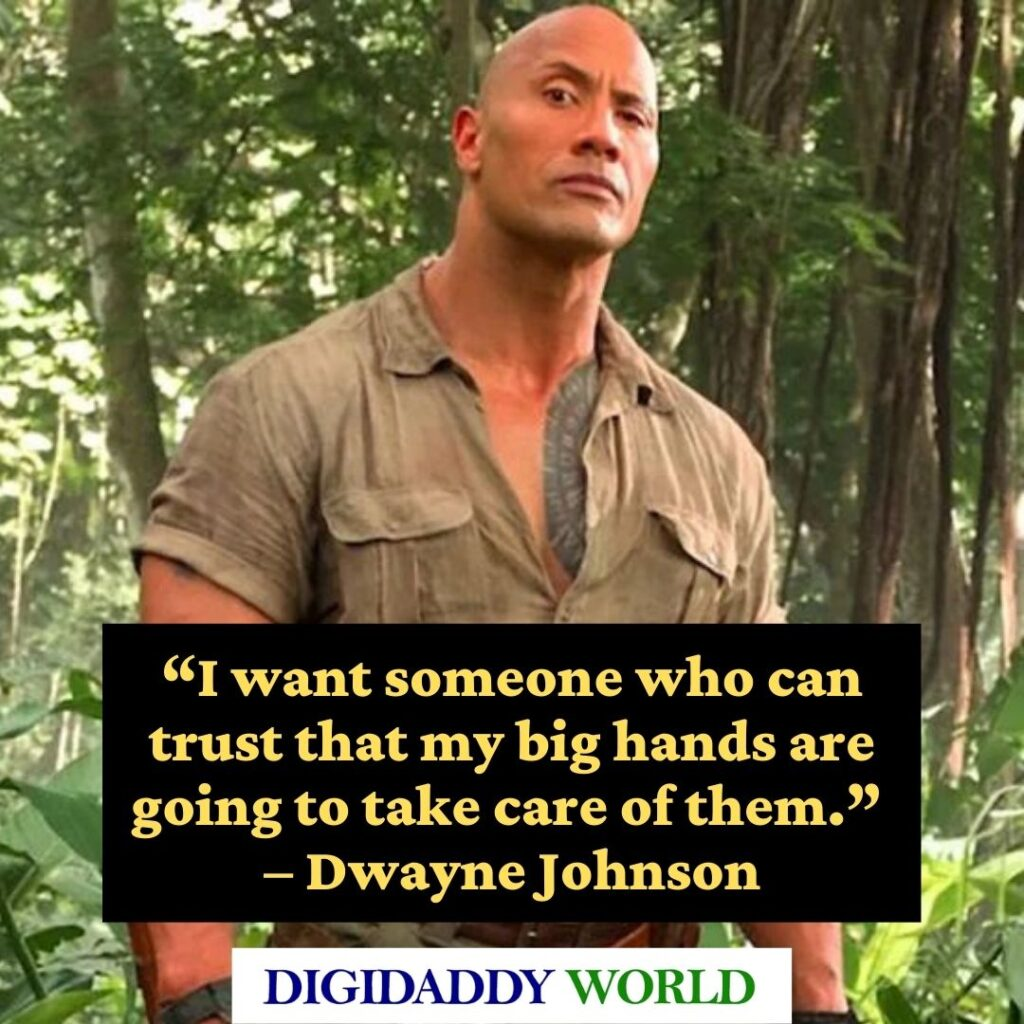 Dwayne The Rock Johnson Best Gym Quotes and sayings
